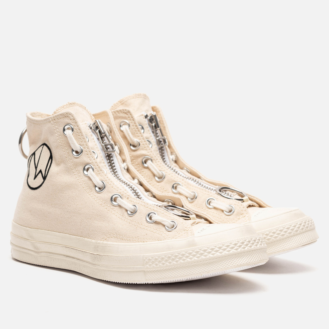 Мужские кеды Converse x Undercover Chuck 70 High Bone/Egret/Natural