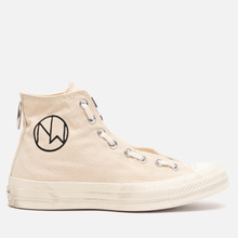 Мужские кеды Converse x Undercover Chuck 70 High Bone/Egret/Natural фото- 3