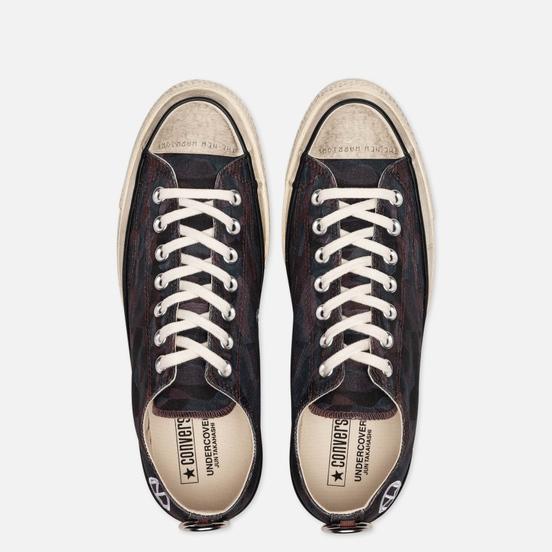 Мужские кеды Converse x Undercover Chuck 70 Low Black/White/Egret