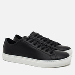 Diemme Veneto Low-Clip Men's Plimsoles Black photo- 1