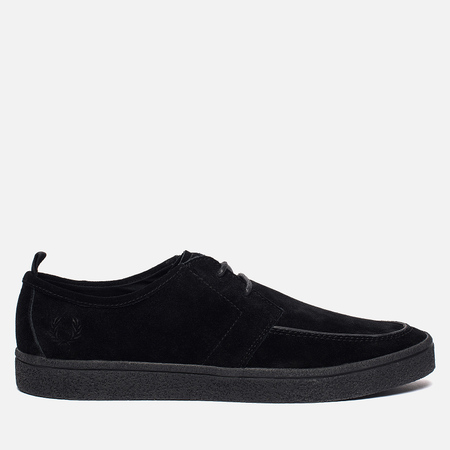 Мужские кеды Fred Perry Shields Suede Creeper Black