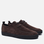 Мужские кеды Fred Perry Shields Suede Creeper Dark Chocolate фото- 2