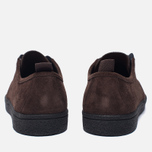 Мужские кеды Fred Perry Shields Suede Creeper Dark Chocolate фото- 3