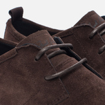 Мужские кеды Fred Perry Shields Suede Creeper Dark Chocolate фото- 5