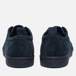 Мужские кеды Fred Perry Shields Suede Creeper Navy фото- 3