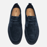 Мужские кеды Fred Perry Shields Suede Creeper Navy фото- 4