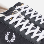 Мужские кеды Fred Perry Spencer Canvas Leather Charcoal фото- 5