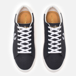 Мужские кеды Fred Perry Spencer Canvas Leather Charcoal фото- 4