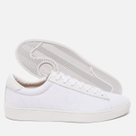 Мужские кеды Fred Perry Spencer Canvas Leather White фото- 2