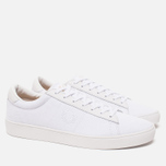 Мужские кеды Fred Perry Spencer Canvas Leather White фото- 1