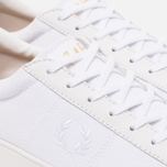 Мужские кеды Fred Perry Spencer Canvas Leather White фото- 5
