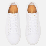 Мужские кеды Fred Perry Spencer Canvas Leather White фото- 4