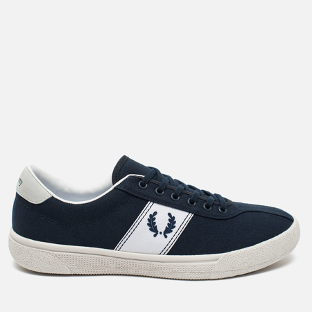 Fred Perry Sports Authentic B1 Tennis Canvas Men's Plimsoles Navy/White