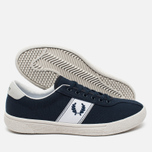 Мужские кеды Fred Perry Sports Authentic B1 Tennis Canvas Navy/White фото- 2