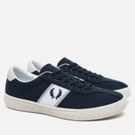 Мужские кеды Fred Perry Sports Authentic B1 Tennis Canvas Navy/White фото- 1