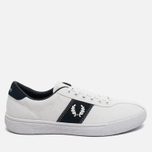 Мужские кеды Fred Perry Sports Authentic B1 Tennis Canvas White/Navy фото- 0