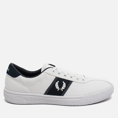 Fred Perry Sports Authentic B1 Tennis Canvas Men's Plimsoles White/Navy