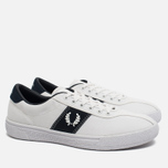 Мужские кеды Fred Perry Sports Authentic B1 Tennis Canvas White/Navy фото- 1