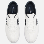 Мужские кеды Fred Perry Sports Authentic B1 Tennis Canvas White/Navy фото- 4