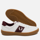 Мужские кеды Fred Perry Sports Authentic B1 Tennis Canvas White/Red фото- 2