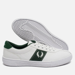 Мужские кеды Fred Perry Sports Authentic B1 Tennis Leather White/Green фото- 2