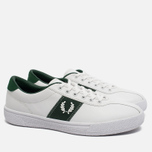 Мужские кеды Fred Perry Sports Authentic B1 Tennis Leather White/Green фото- 1