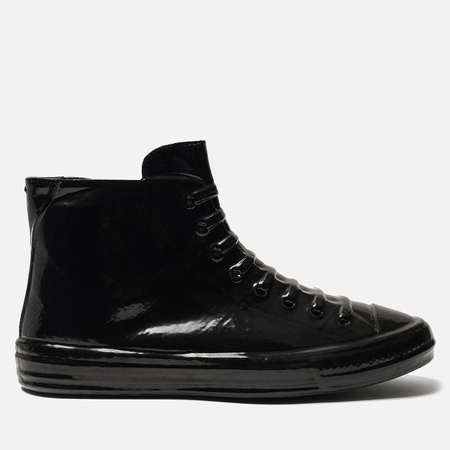 Мужские кеды Maison Margiela Wellington Plastic Casing High Top Black