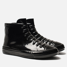 Мужские кеды Maison Margiela Wellington Plastic Casing High Top Black фото- 0