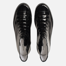 Мужские кеды Maison Margiela Wellington Plastic Casing High Top Black фото- 1