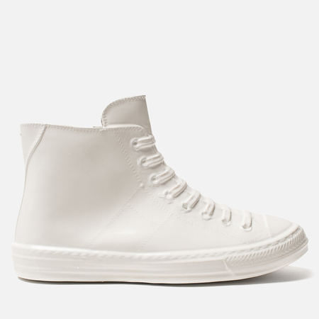Мужские кеды Maison Margiela Wellington Plastic Casing High Top White