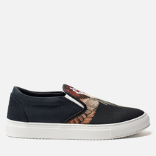 Мужские кеды Marcelo Burlon Red Wings Slip-On Black/Multicolor фото- 3