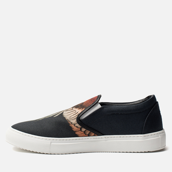 Мужские кеды Marcelo Burlon Red Wings Slip-On Black/Multicolor