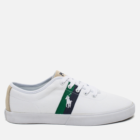 Polo Ralph Lauren Halford NE Men's Plimsoles Pure White