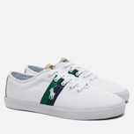 Polo Ralph Lauren Halford NE Men's Plimsoles Pure White photo- 2