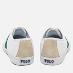 Polo Ralph Lauren Halford NE Men's Plimsoles Pure White photo- 5