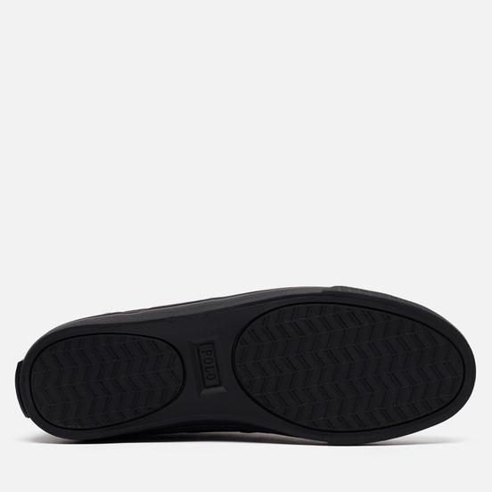 Мужские кеды Polo Ralph Lauren Hanford NE Canvas Black/Charcoal/Black