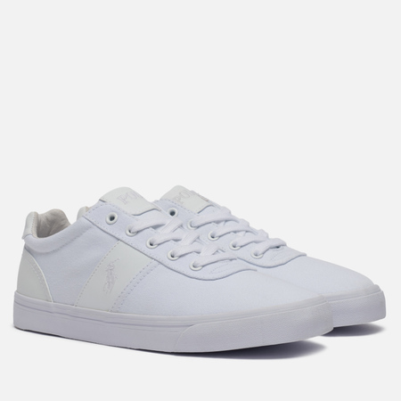 Мужские кеды Polo Ralph Lauren Hanford NE Canvas Pure White