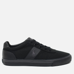 Мужские кеды Polo Ralph Lauren Hanford NE Canvas Black/Charcoal/Black фото- 0