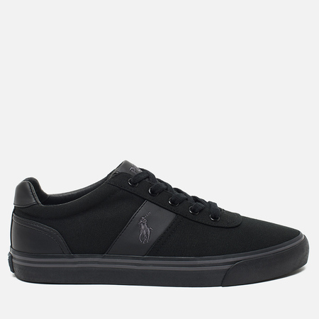 Мужские кеды Polo Ralph Lauren Hanford NE Canvas Black/Charcoal/Black