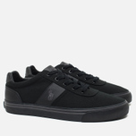 Мужские кеды Polo Ralph Lauren Hanford NE Canvas Black/Charcoal/Black фото- 1