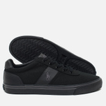 Мужские кеды Polo Ralph Lauren Hanford NE Canvas Black/Charcoal/Black фото- 2