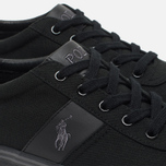 Мужские кеды Polo Ralph Lauren Hanford NE Canvas Black/Charcoal/Black фото- 3