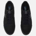 Мужские кеды Polo Ralph Lauren Hanford NE Canvas Black/Charcoal/Black фото- 4