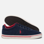 Мужские кеды Polo Ralph Lauren Hanford Newport Navy фото- 1