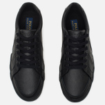 Polo Ralph Lauren Men's Plimsoles Hugh Black photo- 4