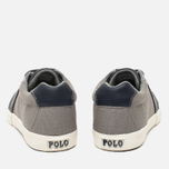 Мужские кеды Polo Ralph Lauren Hugh NE Museum Grey/New фото- 5