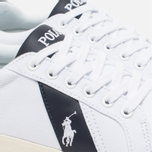 Мужские кеды Polo Ralph Lauren Hugh NE Pure White/Newport фото- 3