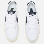 Мужские кеды Polo Ralph Lauren Hugh NE Pure White/Newport фото- 4