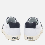 Мужские кеды Polo Ralph Lauren Hugh NE Pure White/Newport фото- 5