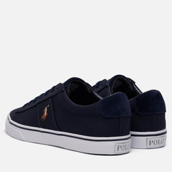 Мужские кеды Polo Ralph Lauren Sayer NE Canvas Aviator Navy